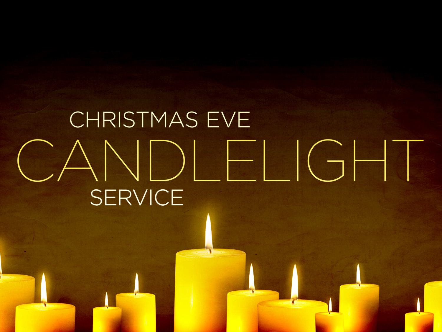 Christmas Eve Candlelight Service | The First Congregational Church ...