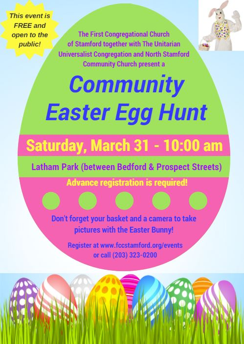 Community Easter Egg Hunt @ Latham Park | Stamford | Connecticut | United States