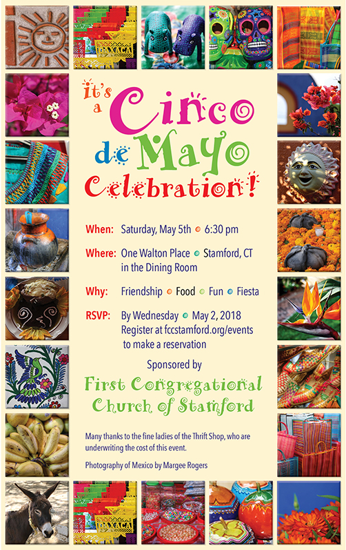 Cinco de Mayo All Church Banquet @ First Congregational Church Dining Room | Stamford | Connecticut | United States