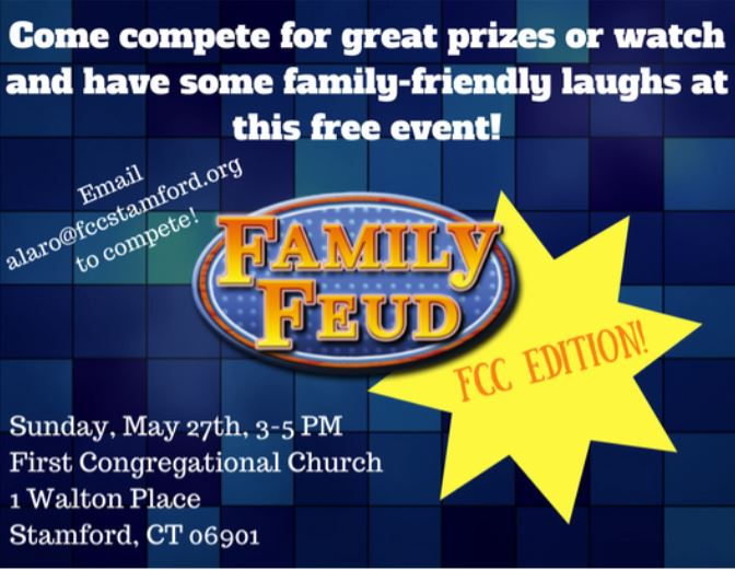 Family Feud @ First Congregational Church  | Stamford | Connecticut | United States