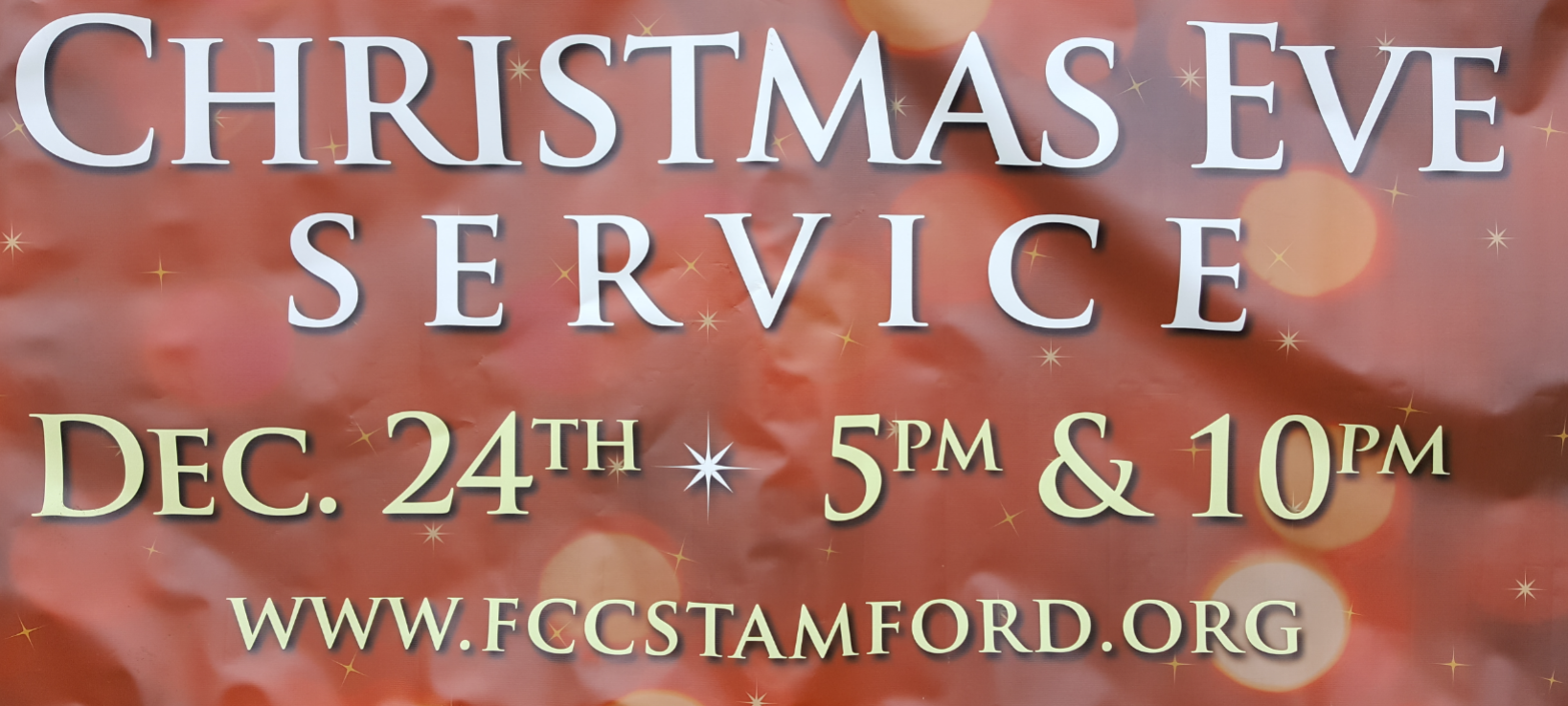 Christmas Eve Family Worship Service @ First Congregational Church | Stamford | Connecticut | United States