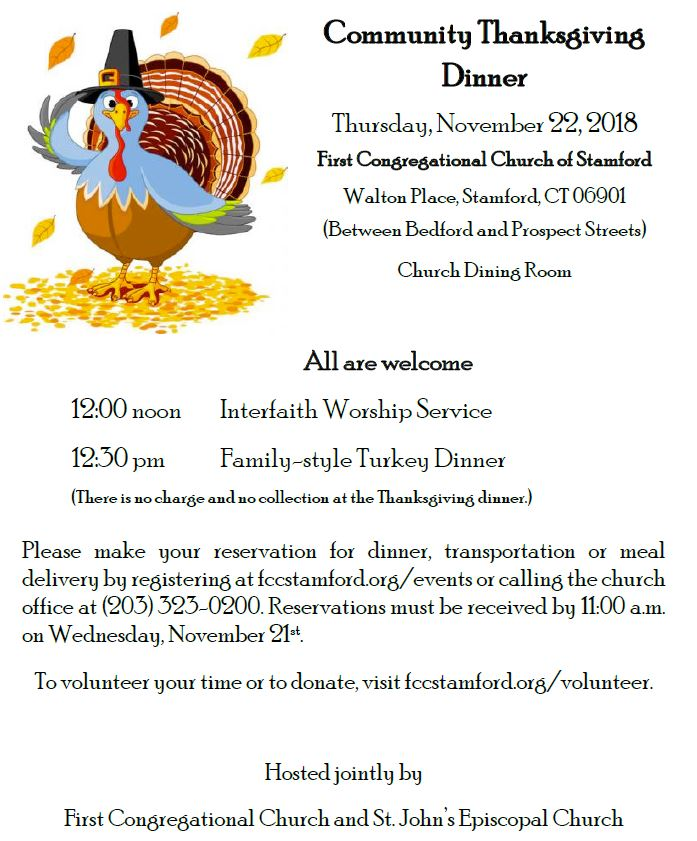 Thanksgiving Dinner @ Dining Room | Stamford | Connecticut | United States