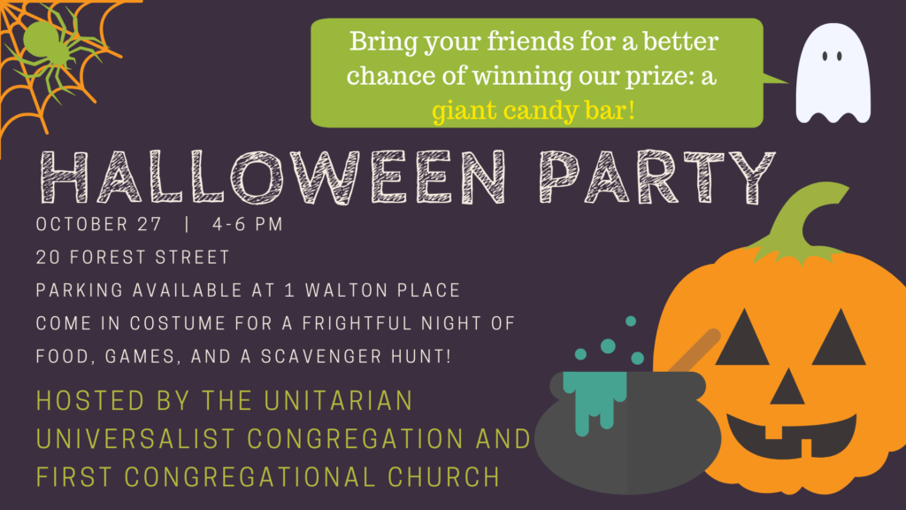 Halloween Party @ Unitarian Universalist Congregation | Stamford | Connecticut | United States